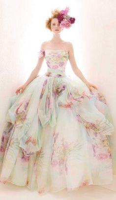 Atelier Aimee Floral Dress