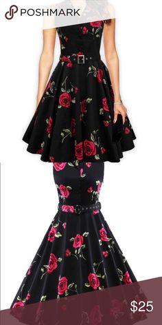 Gorgeous floral dress Very flattering Dresses Midi