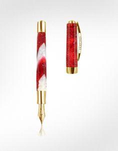 Visconti Opera Elements - Marmorized Resin Fountain Pen
