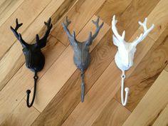 Cast Iron Deer Head Hook $15.50