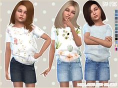 Pinkzombiecupcakes's Sims 4 Downloads Sims 4 Toddler Clothes, Sims 4 Cc Kids Clothing, Sims 4 Mods Clothes, Toddler Cc Sims 4, Kids Clothes Boys, Sims Four, The Sims 4 Pc, Sims Cc, Kids Outfits Girls