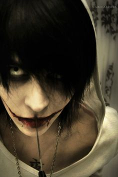 Jeff The Killer Cosplay | cosplay] Jeff the Killer (creepypasta) by Sarcanide