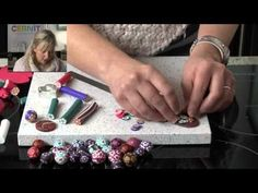Polymer Clay Tutorials - How to make Beads, Buttons and More... - YouTube