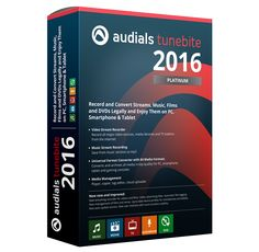 Audials Tunebite 2016 Crack Serial Keygen Free Download. Audials Tunebite 2016 Crack is a modern software to record, convert and backup music albums.