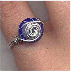 Divertidos anillos de alambre, enviados por Candela