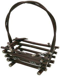 One Kings Lane Vintage Twig Basket