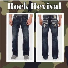 Rock revival men's jeans Nothing wrong with them Rock Revival Jeans Boot Cut