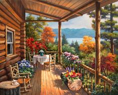Home sweet porch ~ Sung Kim