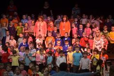 Day Two - Hundreds of children perform at the KS1 Singing Festival held at Grimsby Auditorium