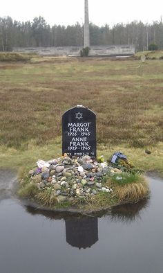 Anne Frank In Concentration Camp | Anne Frank's Gravestone | Flickr - Photo Sharing!