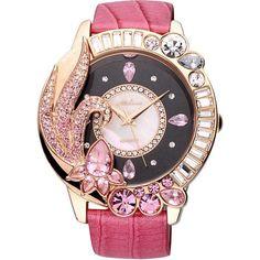 Big Shine Crystal Flower Watch Women's Dress Rhinestone Watches Casual Quartz Watch Luxury Melissa 11603 Clock