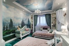 alice in wonderland bedroom