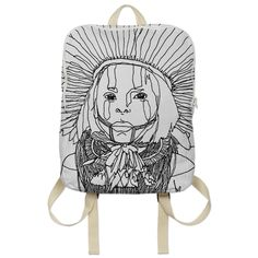 Kayapo backpack by Amazon Queens. $65 from http://printallover.me/collections/amazon-queens