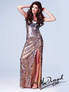 Cassandra Stone by Mac Duggal Style 3984A now in stock at Bri'Zan Couture, www.brizancouture.com