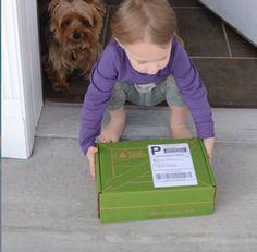 Mande eventualmente caixas surpresas para seus filhos