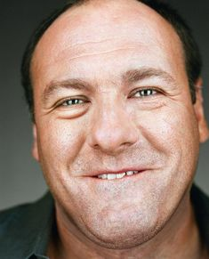 """James Gandolfini """"Up Close & Personal - Celebrity Photography"""" by Martin Schoeller Celebrity Photography, Celebrity Portraits, Portrait Photography, People Photography, Martin Schoeller, James Worthy, Tony Soprano, Celebrity Haircuts, Famous Photographers"""