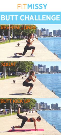 Do the workout, get the results! http://www.fitmissy.com/3-awesome-exercises-to-tone-your-butt/