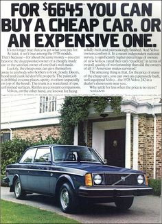 Volvo 242 - US-adv (1978)                                                       …