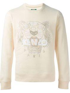 Kenzo, 'Tiger' Sweatshirt (Cream)