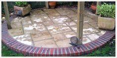 Garden Design & Construction with the Surrey & South London districts Circular Patio, Pergola, Sidewalk, New Homes, Outdoor Decor, Backyard Ideas, Image, Home Decor, Gardens