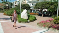 Estepona, Doris Visits Costa Del Sol, Spain