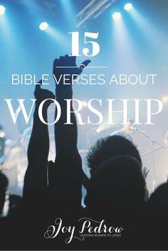 Bible verses about Worship