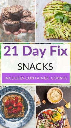 Easy 21 Day Fix Snacks to lose weight and feel great! These 51 healthy snacks in.,Healthy, Many of these healthy H E A L T H Y . Easy 21 Day Fix Snacks to lose weight and feel great! These 51 healthy snacks include container counts for each. 21 Day Fix Snacks, 21 Day Fix Diet, 21 Day Fix Meal Plan, Fixate Recipes, Healthy Dinner Recipes, Healthy Snacks, Quick Snacks, 21 Day Fix Recipes Dessert, Vitamix Recipes