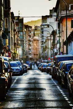 Ancient streets of Palma Shots, Street View, Majorca