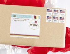mailing label - enjoy - erin condren