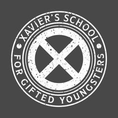 Check out this awesome 'Xavier%27s+School+for+Gifted+Youngsters+Distressed' design on @TeePublic!