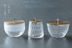 このたび CLASKA Gallery & Shop Ceramic Tableware, Glass Ceramic, Kitchenware, Cut Glass, Glass Art, Wabi Sabi, Tea Ceremony, Glass Design, Dinnerware