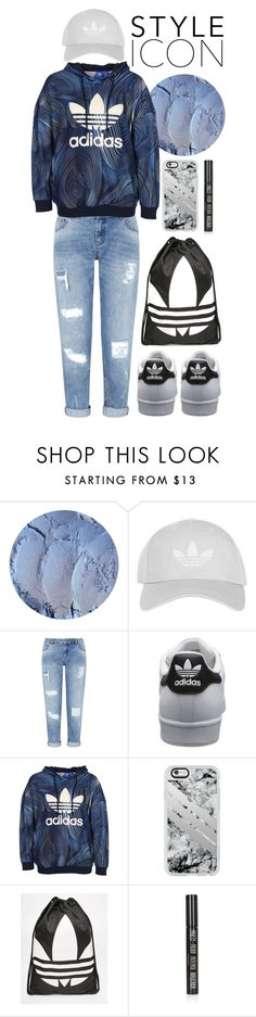 """In love with this outfit 💕"" by katieivory ❤ liked on Polyvore featuring Topshop, Miss Selfridge, adidas Originals, Casetify and adidas"