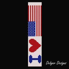 loom beading for beginners Bead Crochet Patterns, Peyote Patterns, Beading Patterns, Cross Stitch Patterns, Bead Loom Bracelets, Beaded Bracelet Patterns, Jewelry Patterns, Loom Bands, Beaded Banners