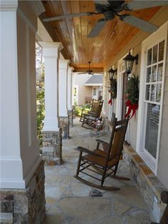 Overall great design. Like the stone pillar bases, square posts, stone or Ipe wood floor or roof.