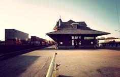 Train Station in Medicine Hat | Editing Luke