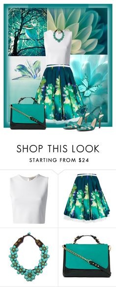 """Magic"" by diana-s8 ❤ liked on Polyvore featuring Designers Guild, Bellagio, Emilio Pucci, Eggs, Pannee and Kelly & Katie"