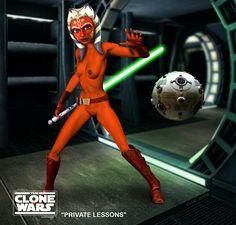 Star wars zeichentrick nackt