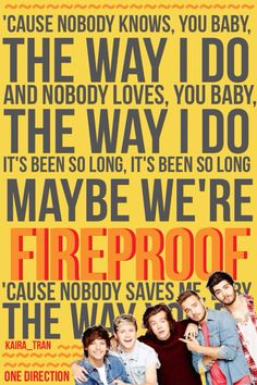 New song Fireproof!! I LOVE IT. I already downloaded it too. :) Once again, please give credit to me if you repin! :) x-Kaira