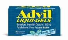 Advil is faster and