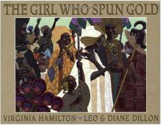 the girl who spun gold by virginia hamilton