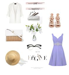 """""""Untitled #227"""" by xolafkax on Polyvore featuring River Island and Aquazzura"""