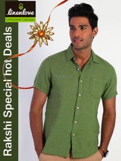 Celebrate Raksha Bandhan with ‪#‎LinenLove‬'s collection of stylist ‪#‎shirts‬ Shop now and avail the Rakhi special ‪#‎offer‬ + Free ‪#‎shipping‬ Shop now at www.linenlove.in/