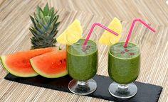 Hier finden Sie ein Rezept für die Zubereitung eines Grüner Kraft-zum-Leben-Smoothies.