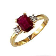 ruby engagement ring-amazing!