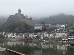 Cochem, on the Mosel River, Germany - December 2013
