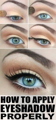 1000+ Images About Eye Shadow Tips On Pinterest