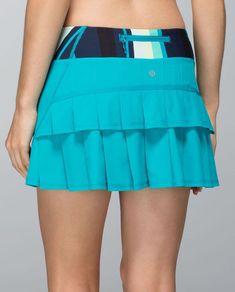 cdd07b692f Lululemon Run: Pace Setter Skirt (Regular) Stretch - Surge / Assorted  Stripe Surge - lulu fanatics