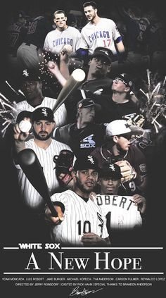 A New Hope, Chicago White Sox, Mlb, Socks, Movie Posters, Movies, Films, Film Poster, Sock