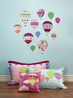 Hiccups Beautifull Balloons muurstickers   Kinderkamer, decoratie, meubels, accessoires en kinderkleding