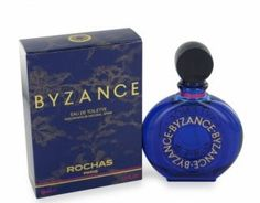 Byzance perfume was launched by Rochas in 1987. The name stems from Byzantium - the fabled city built by the Greeks - which consequently means the frangrance is a true Middle Eastern blend of aromas to make you feel you've been trasnsported through time and space. Heavenly!